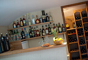 Bar and wine cellar family holidays